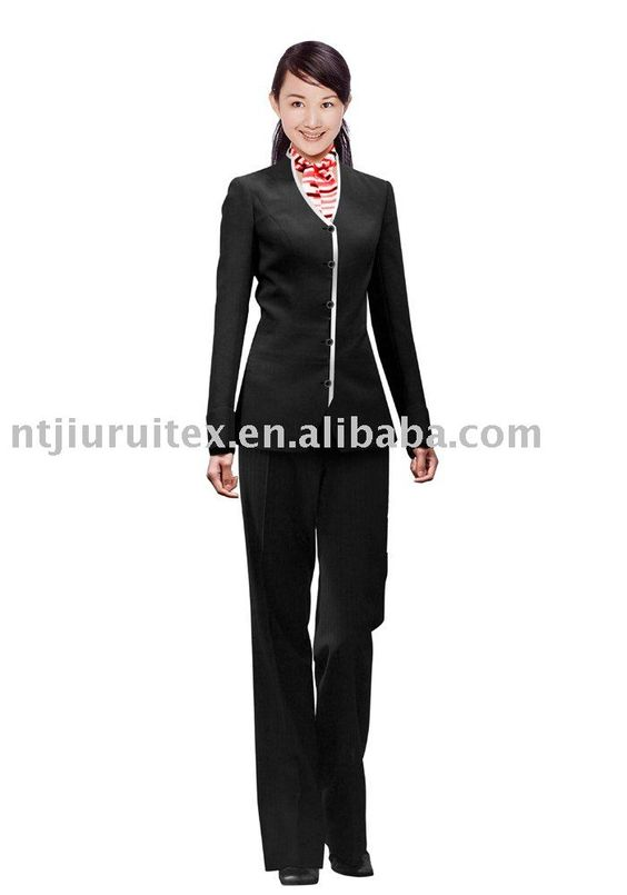 Hotel receptionist uniform uniform pinterest for Spa receptionist uniform design