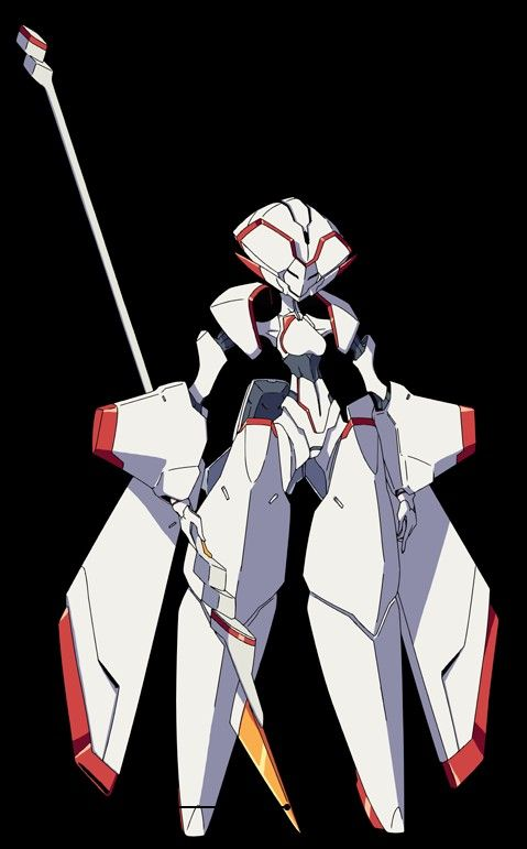 Pin By Witch Bee On Bot Inspiration Darling In The Franxx Mecha Anime Robot Concept Art