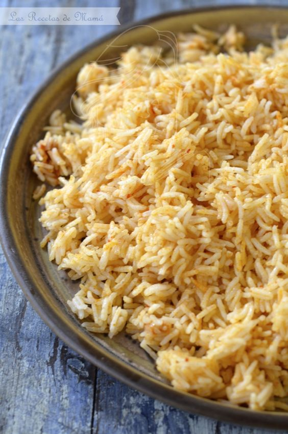 gambas al limón con arroz de curry rojo