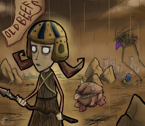 First of all, this is so well drawn. Second: I really love Sips' let's play on Don't Starve. It's hilarious.