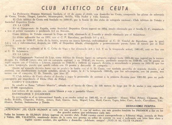 CLUB ATLETICO DE CEUTA