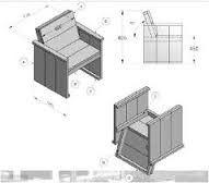 Steigerhouten meubelen bouwtekening nodig? Klik voor gratis bouwtekeningen!