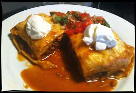 Witchery in the Kitchen: Sunken Beef Burritos