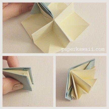 Origami Popup Book Video Tutorial #origami #book #popup #cute #crafts #diy