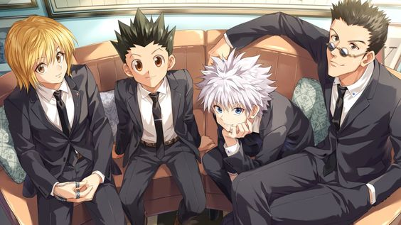 Anime Hunter x Hunter Kurapika (Hunter × Hunter) Leorio Paradinight Killua Zoldyck Gon Freecss Wallpaper