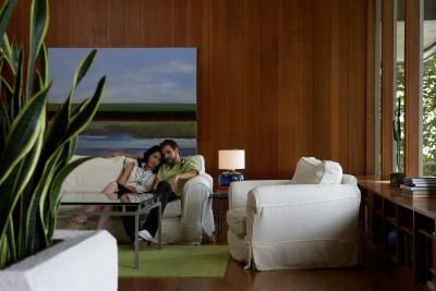 From television programs to new home designs, the style of the 1970s is coming back. This retro look, with its avocado and golden-harvest appliances and shag carpeting is re-emerging as the design element of choice. Included in this mix down memory lane are paneled walls. Whether you have inherited walls of faded brown paneling, or are surrounded by original hardwood walls, decorating around the paneling offers many design choices. Take into consideration the condition of the paneling