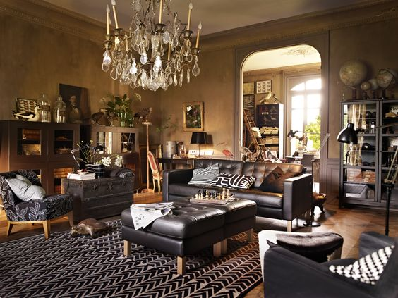 ikea goes steampunk-ish. -styled by Hans Blomquist at Agent Bauer