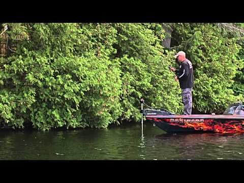 Bass fishing tactics for summer cold fronts- S13 eps01