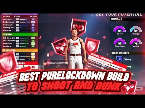 These 2 Lockdown Builds Can Do Everything Shoot Dunk W 4 Takeover Badges Best 2k20 Builds Https Youtube Com Watch V V Cool Signatures Dunk Small Forward
