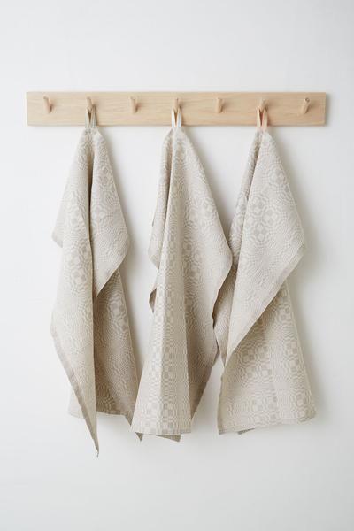 Tea Towel - Grey Check