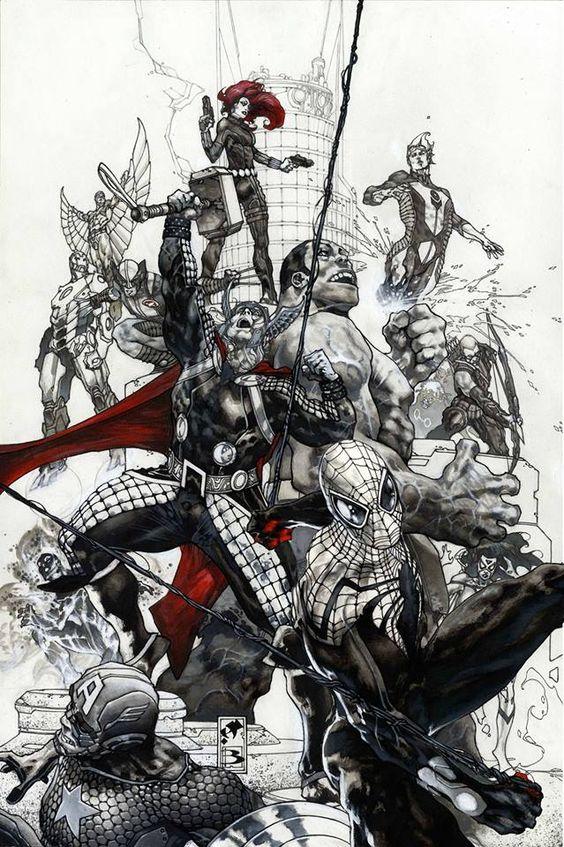Avengers by Simone Bianchi