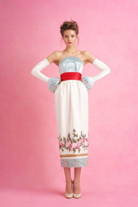 Ulyana Sergeenko коллекция | Коллекции весна-лето 2018 | Париж | VOGUE