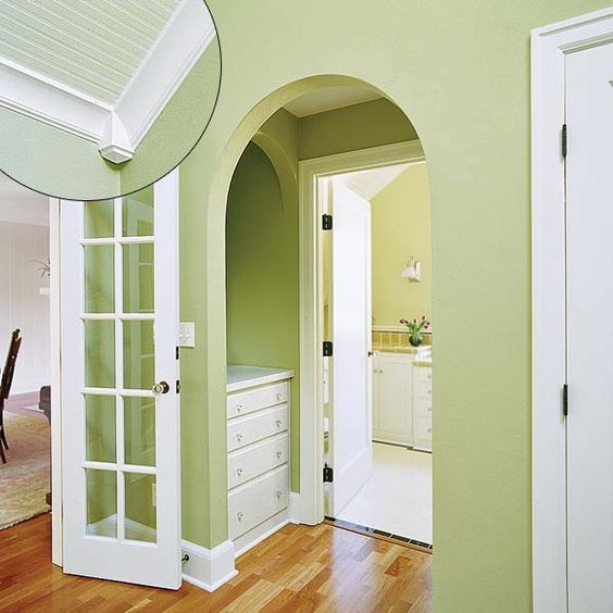 39 crown molding design ideas molding ideas design and for Colonial trim molding