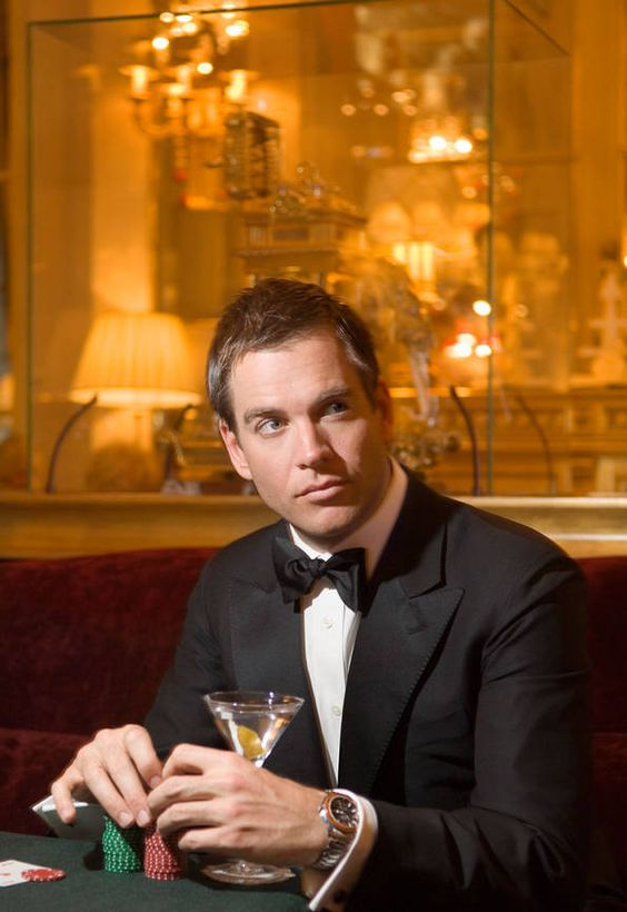 Michael Weatherly - Paris '07