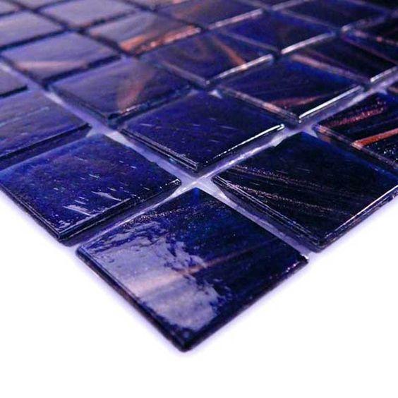 "Cobalt Blue Copper Blend, 3/4"" x 3/4"""