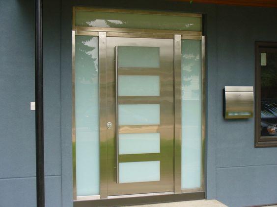 Steel Doors Online, Stainless Steel Exterior Doors at Milano Doors