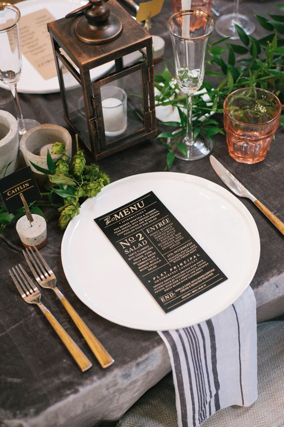 The #RadRehearsal - An Inspiring Industrial, Rustic Chic Rehearsal Dinner: Kristen and Mike:
