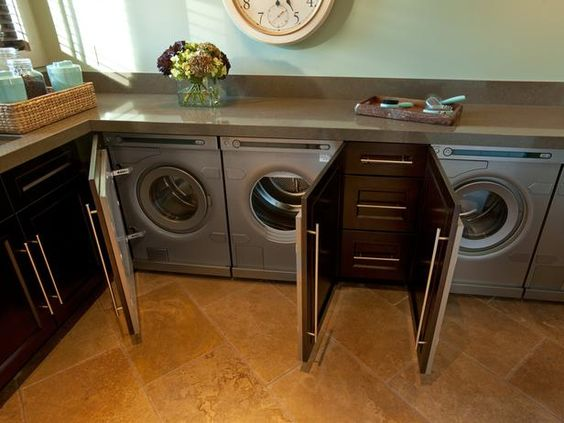 Stylish Laundry Rooms From HGTV Dream Home, Green Home and Urban Oasis : Decorating : Home & Garden Television