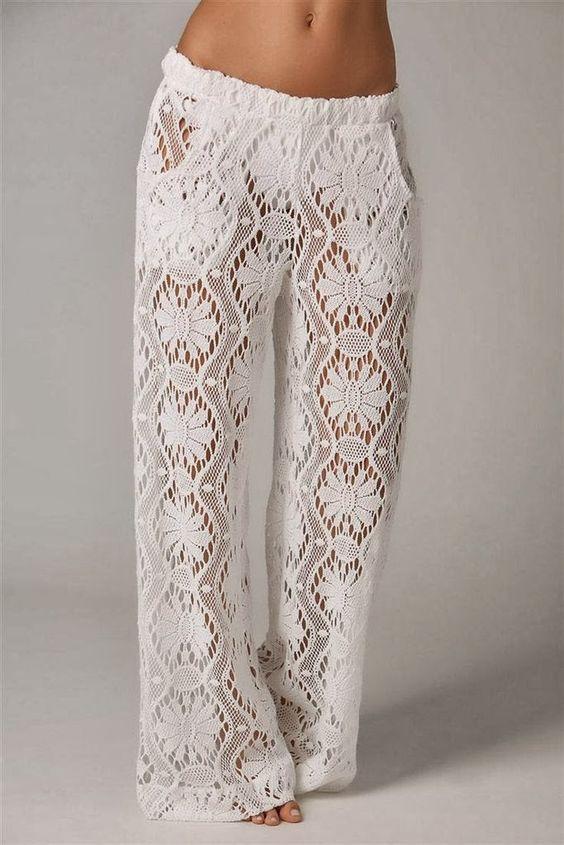 pantalones cortos ganchillo patrones gratis