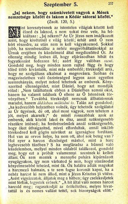 09.05.Spurgeon: Harmatgyöngyök...
