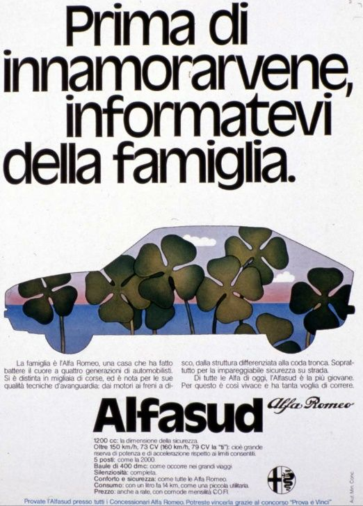 Alfa Romeo Alfasud - adv