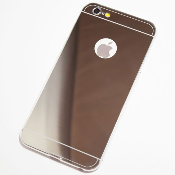Silver iPhone 6 Plus / iPhone 6S Plus Mirror Case