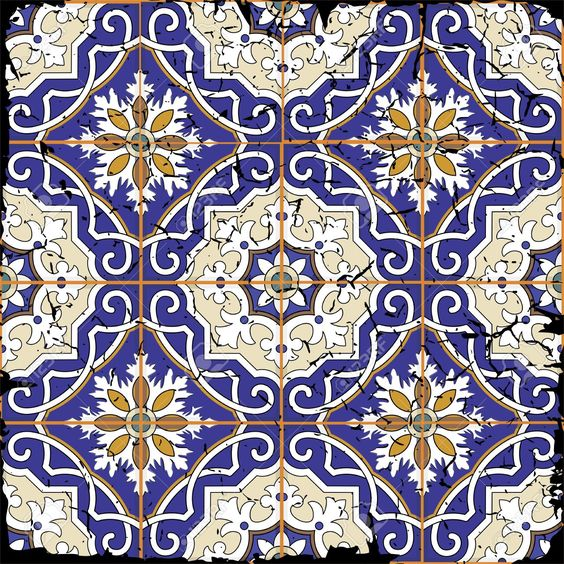 Gorgeous Seamless Patchwork Pattern From Grunge Moroccan Tiles,.. Royalty Free Cliparts, Vectors, And Stock Illustration. Image 42963819.