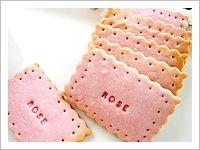 yummie pink cookies