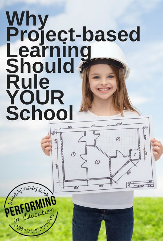 Why Project-based Learning Should Rule YOUR School - Fun, real-life activities motivate students!