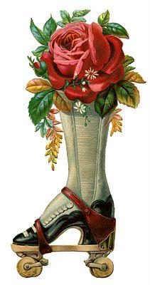 Roller skate boot: