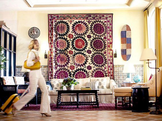 Pretty Suzani Fabric Con Imagenes Casas Casonas Living
