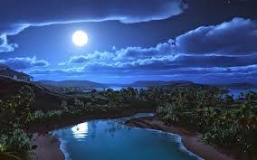Resultado de imagen para imágenes de paisajes nocturnos en cuerda seca