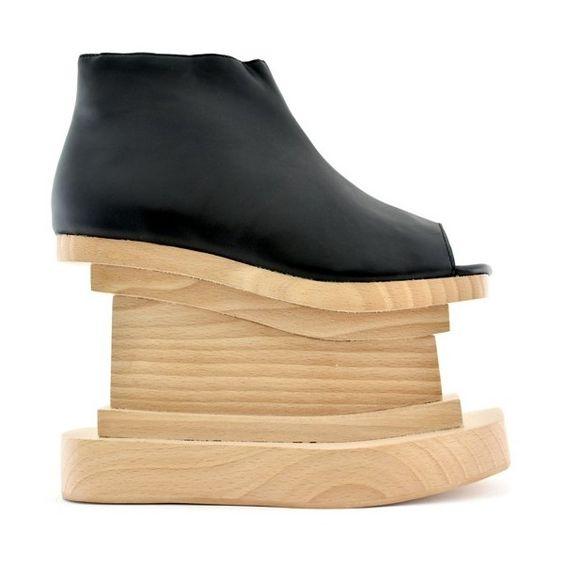 Jeffrey Campbell at VillainsSF.com  #wedges #unique #fashion #JeffreyCampbell #shoes