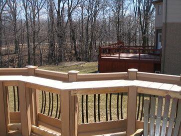 Deck Rail Bar Design Ideas, Pictures, Remodel, and Decor ...