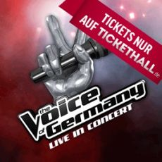 Tickethall The Voice of Germany Live in Concert