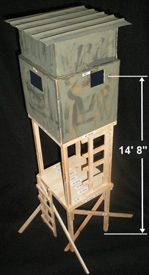 Hunting Stand Designs : Deer stand plans stands and on pinterest