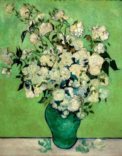 Vincent van Gogh, Roses, 1890.