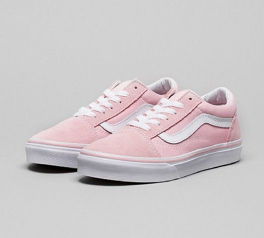 Vans Junior Old Skool Trainer   Chalk Pink White