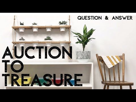 Q A Elysia English Auction To Treasure Thrifted Home Decor Diy Up Cycled Projects Recycle Youtube Home Decor Diy Decor Decor
