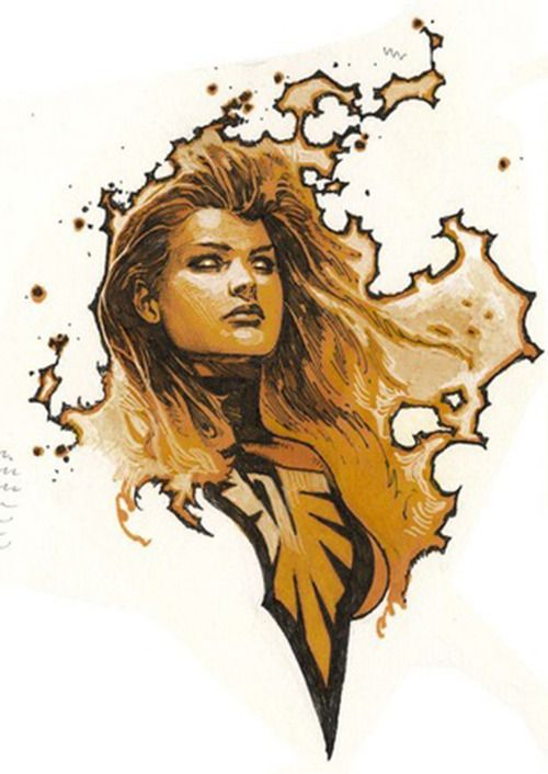Phoenix by Travis Charest #JeanGrey