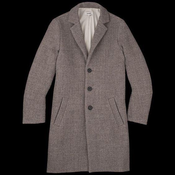 SAMUJI TENNAT TOP COAT, $850. | 29 Winter Coats For Budget Conscious Dudes