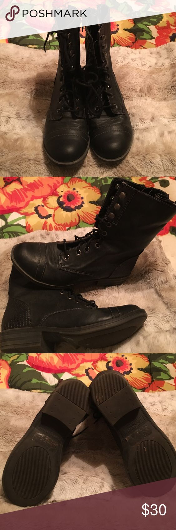 American Rag Deputy boots American Rag Deputy boots, size 7.5, excellent condition worn only a few times. American Rag Shoes Heeled Boots