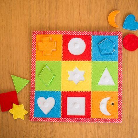 Proyectos creativos de juegos para niños con necesidades educativas especiales (TEA, TGD, TDAH, TEL...). Libros sensoriales - Quiet Books