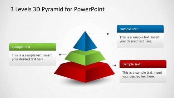 3 Levels 3d Pyramid Template For Powerpoint Powerpoint Templates Powerpoint Business Powerpoint Templates
