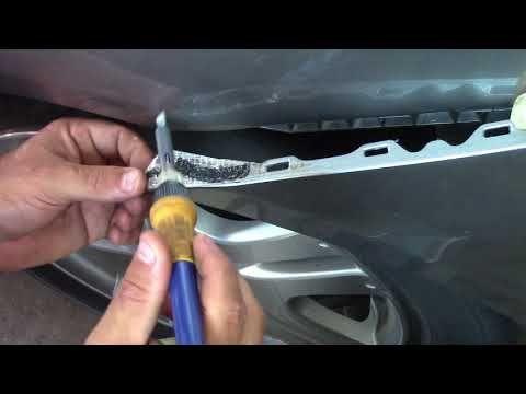 Car Bumper Broken Plastic Tab Repair Youtube Car Bumper Bumper Repair Plastic Repair