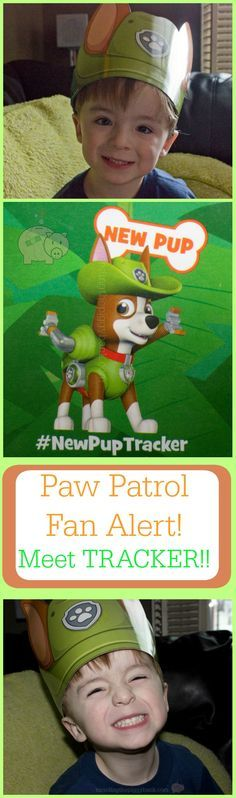 Paw Patrol Fan Alert: New Pup Named Tracker to Be Featured in Fall 2016 -- a new pup named TRACKER will be joining Ryder and the existing pups Marshall, Chase, Skye, Rocky, Rubble, Zuma and Everest in FALL 2016!! Get all the details from Mending the Piggy Bank before you'll hear it anywhere else!!