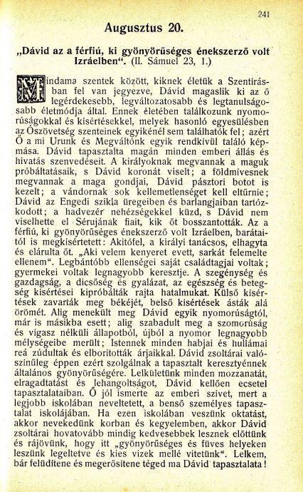 08.20. Spurgeon: Harmatgyöngyök...