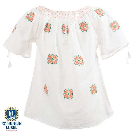 $45 The traditional blouse is entirely hand made out of natural materials such as cotton or silk