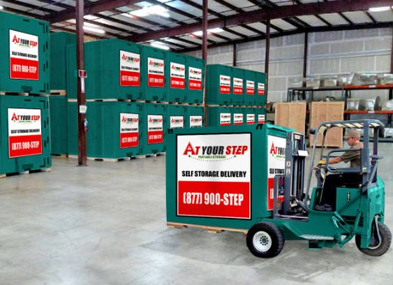 Storage pods delivered to your home