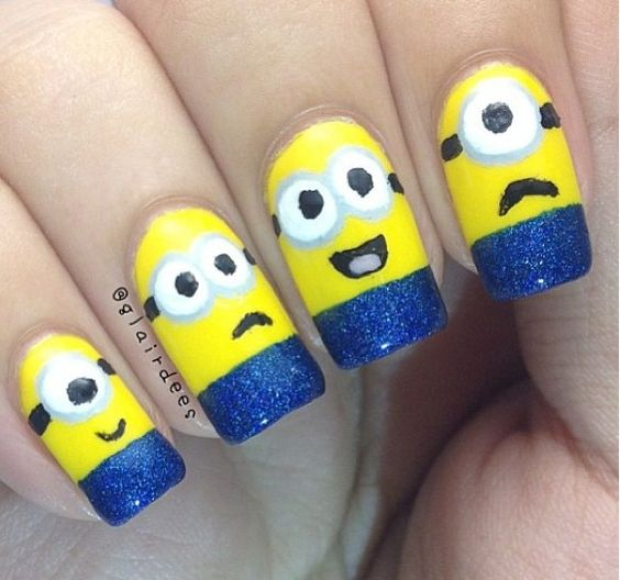 Doing my nails like this tomorrow